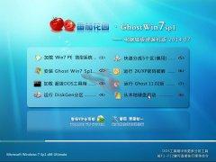 番茄花园 Ghost Win7 SP1 电脑城海驱极速装机版 v2014.07