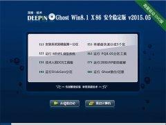 深度技术  Ghost Win8.1 X86 稳定装机版 v2015.05