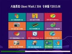 大地 GHOST WIN8.1 X64 专业版 2015.06