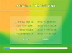 大白菜GHOST WIN8.1(64位)官方装机版V2016.06