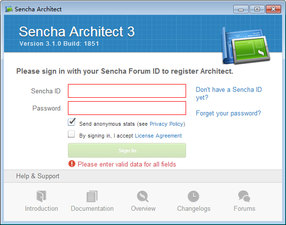 Sencha Architect(HTML5开发工具) V3.1.0