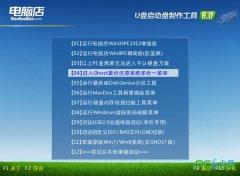 电脑店u盘启动盘制作工具v5.6中文版