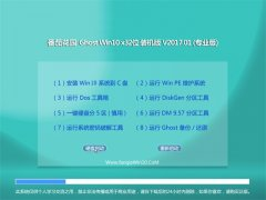 番茄花园Ghost Win10 X32位官方通用版2017.01(免激活)