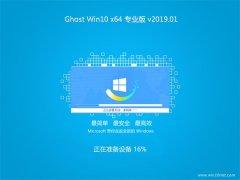 大番茄Ghost Win10 X64 官方专业版 V2019年01月(免激活)