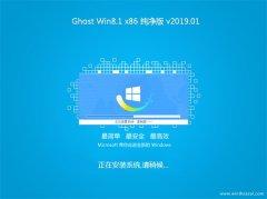 大地系统Ghost Win8.1x86 特别纯净版2019.01(免激活)