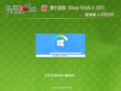新萝卜家园Ghost Win8.1x86 完美纯净版v2019.04(自动激活)
