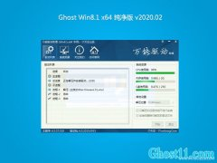 系统之家W8.1 多驱动纯净版 v2020.02(64位)