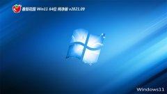 番茄花园Windows11 专业纯净版64位 2021.09